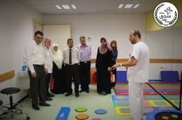 زيارة أعضاء مجلس الإدارة والمدير العام لمركز سجى إلى مستشفى سمو الشيخ حمد بن جاسم للأطراف الصناعية