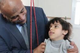 زيارة وكيل وزارة الشؤون الاجتماعية لمقر جمعية مبرة فلسطين للرعاية