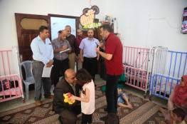 مستشفى سمو الشيخ  حمد  بن جاسم للاطراف الصناعية في زيارة لمركز سجى