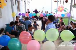 #شاهد #بالفيديو .. #مدرسة_سجى تنظم يوماً مفتوحاً لطلبتها بهدف التفريغ والدعم النفسي لهم ..