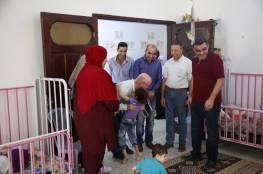زيارة وزير الأسرى السابق لمركز سجى