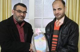مدير عام مبرة فلسطين يستقبل وفدا من جمعية أصدقاء مرضى الكلى